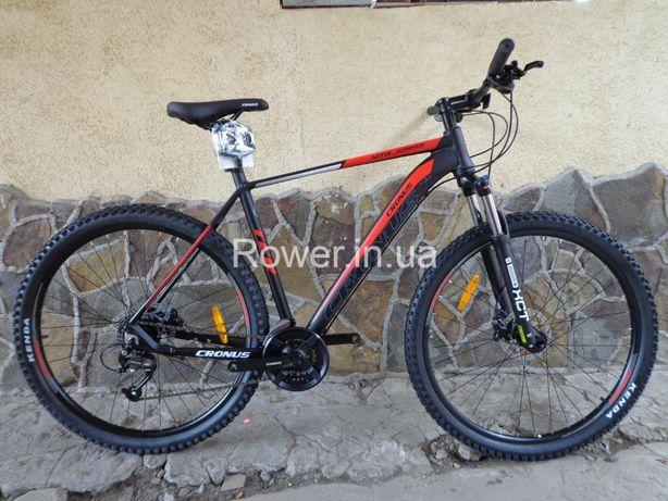 Велосипед найнер Cronus Warrior 29 Black / Гідравлічні гальма