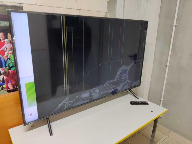 Samsung UE55RU7100KXXU - Nowy z pudełkiem, uszkodzony, kompletny.