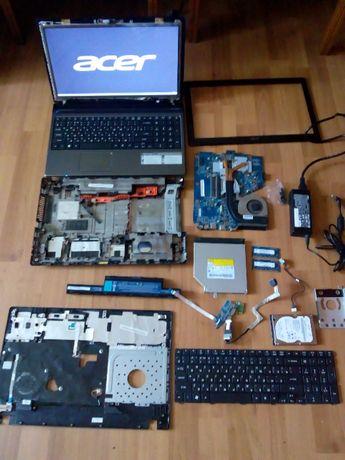 Ноутбук Acer Aspire 5560g разборка, запчасти, матрица, зарядное