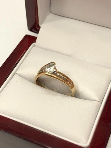 złoty pierścionek 2,45g 333 R:18