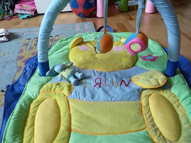 turystyczna mata dla niemowlaczków Bruin