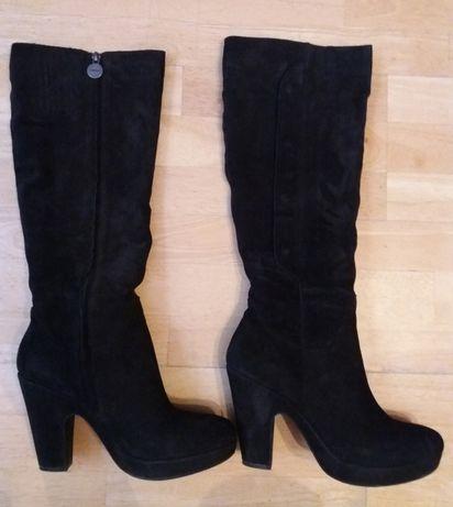 Шкіряні чоботи Geox, 41 р./ Кожаные сапоги Geox, 41р.