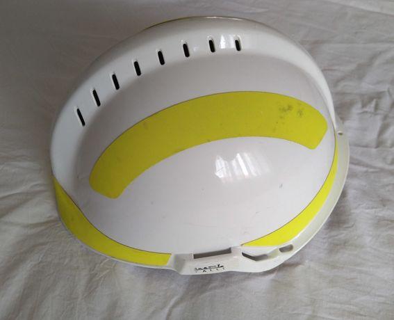 Capacete Branco, usado, MSA F2 X-TREM. Bombeiro