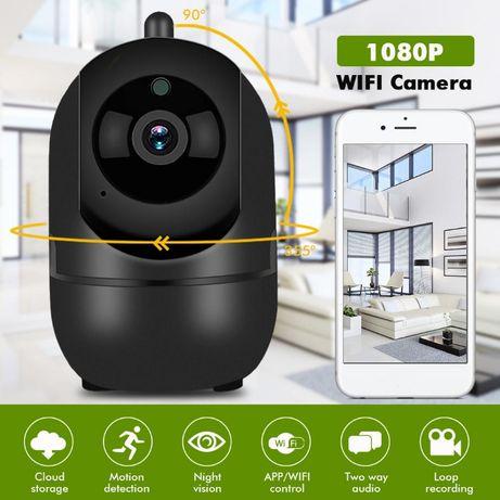 Camera 1080P Segurança 360º Vigilância WiFI APP Visão Noturna NOVA