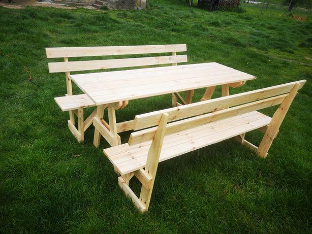Stół ogrodowy, meble ogrodowe ławki