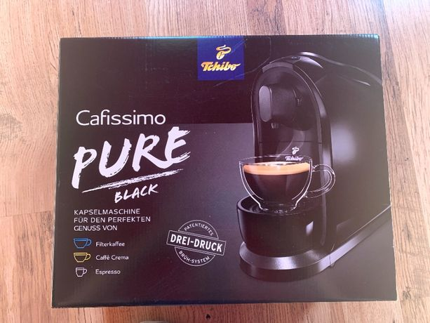 Ekspres do kawy Tchibo Cafissimo Pure Black