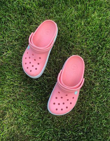 Оригинал crocs резиновые тапочки кроксы яркие