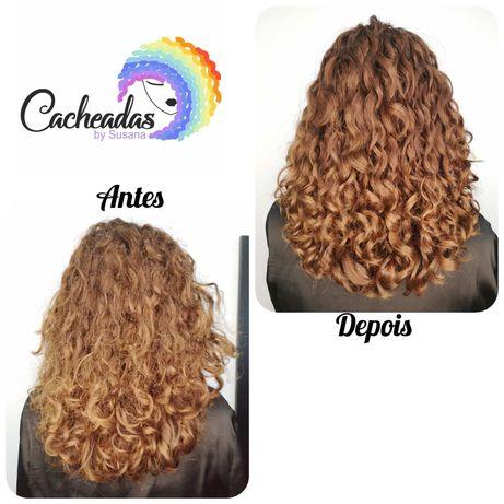 Cabeleireira especialista em cabelos encaracolados e ondulados