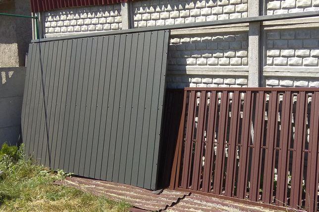 Brama przesuwna garażowa 2x2,5. 2x3. 2x3,5. 2x4.