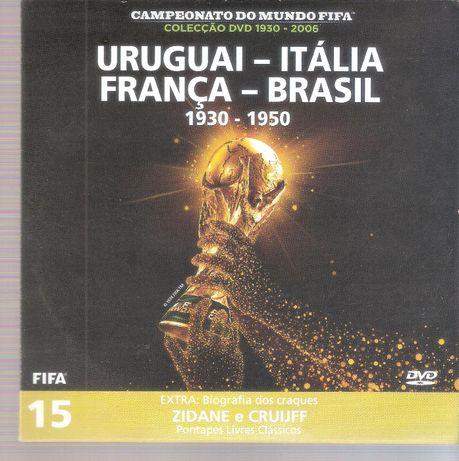 DVD Campeonato do Mundo FIFA Uruguai-Itália-França-Brasil nº15