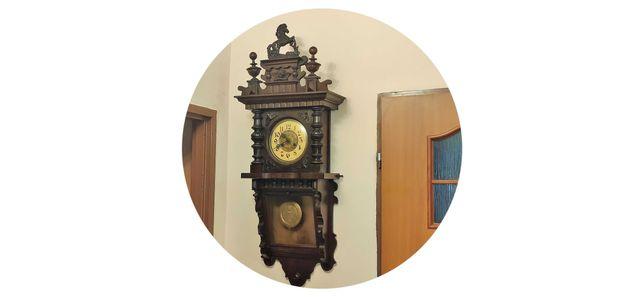 Kienzle-ślązak duży , wiszący zegar