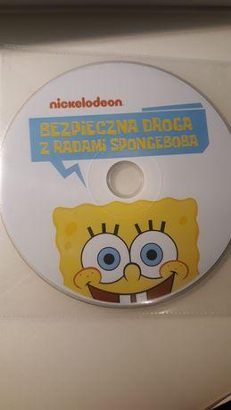 DVD Bezpieczna droga z radami Spongeboba+Dora poznaje świat.nickelodeo