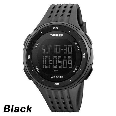 Relógio desportivo Skmei Preto