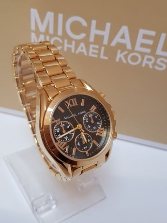 Zegarek damski Michael Kors Nowy kolor złoty  super  pudełko
