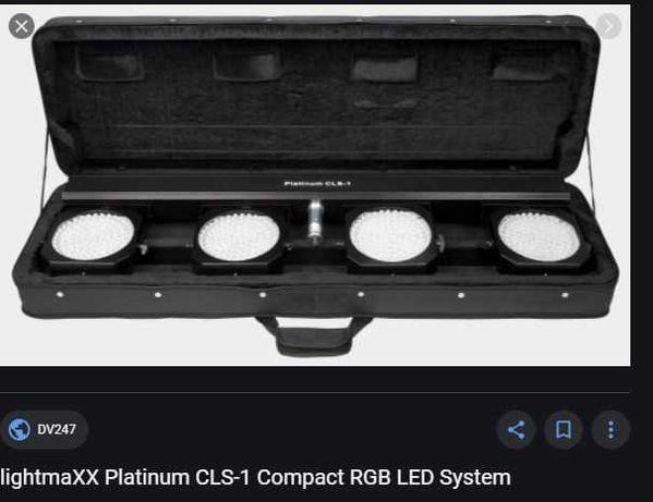Lightmaxx Platinum CLS 1 Par Led Bar dmx