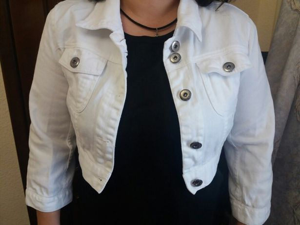 Женская курточка, пиджачок из коттона