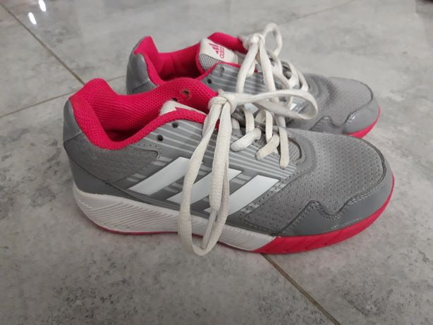 Adidas 30.5 szaro - różowe