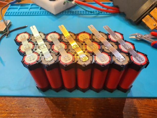 Regeneracja/naprawa/budowa/wymiany baterii ebike rower hulajnóg