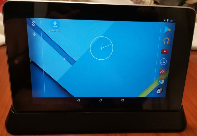 Tablet NEXUS 7 com docking station
