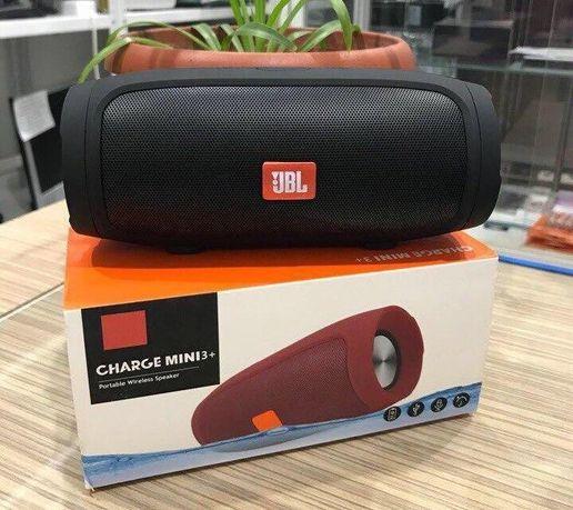 Портативная блютуз колонка JBL Charge 3 MINI колонка с USB,SD,FM ЧЕРНА