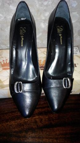 "Кожаные туфли ""Монарх"""