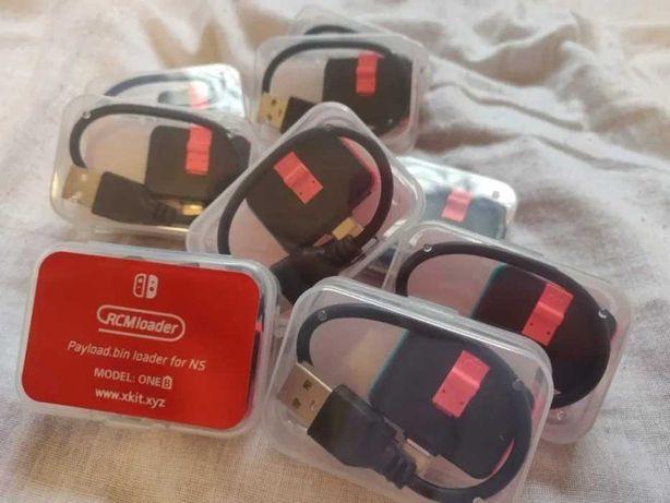 RCM Loader Przeróbka Nintendo Switch + Jig CFW Atmosphere SXOS