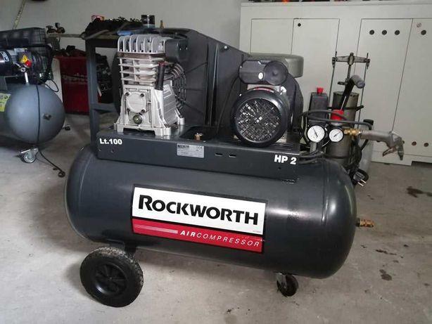 sprzedam kompresor rockworth 100l