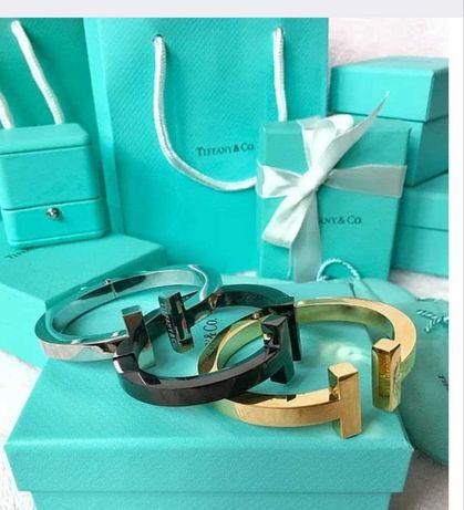 Браслеты премиум-качества (replica) Tiffany & Co  В наличии три цвета.