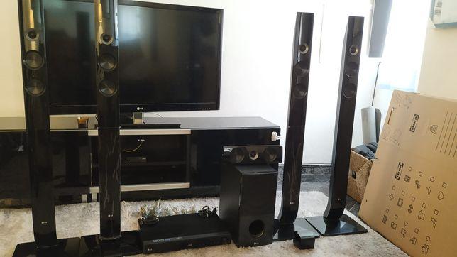Home Cinema LG HX906TA Home Cinema Blu-ray 3D, Smart TV, Wi-Fi, DLNA