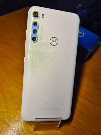 Motorola One Fusion + Plus moonlight White