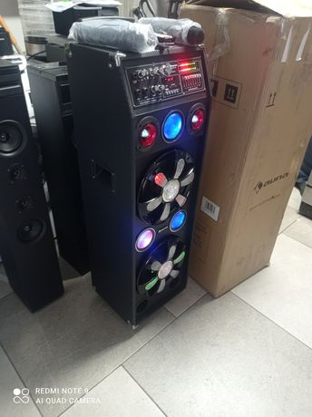 Аккумуляторная колонка караоке AunaProDisGo Box 2100
