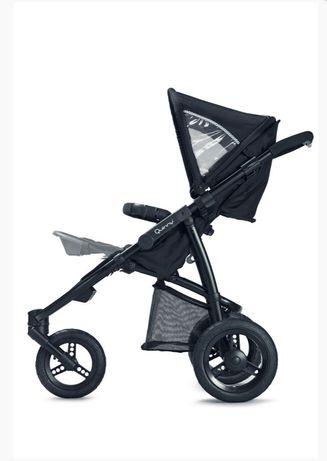 Quinny speedi трехколесная коляска с ручным тормозом для бега 3х