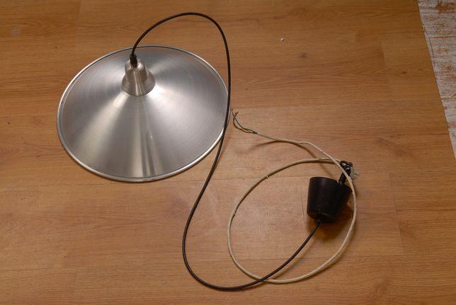 Lampa, lampy szerokie i wąskie, stal szczotkowana inox