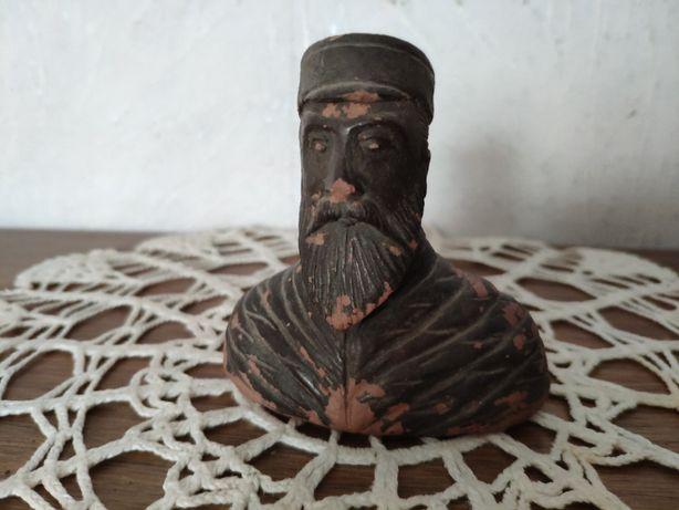 Popiersie Figurka Glina Rabin Żyd