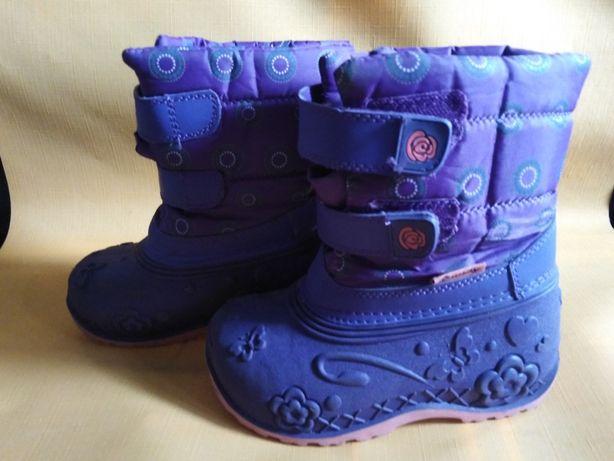 Buty zimowe ocieplane śniegowce roz. 27