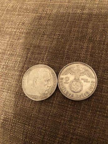 Рейхсмарки Третій Рейх Монети