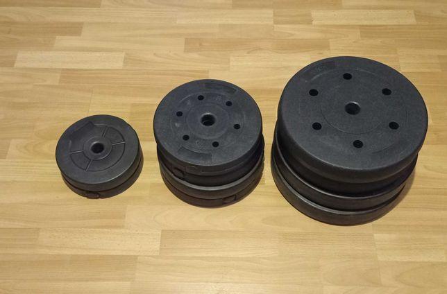 obciażenie bitumiczne, talerze, nakład, siłownia, krązki, bumpery