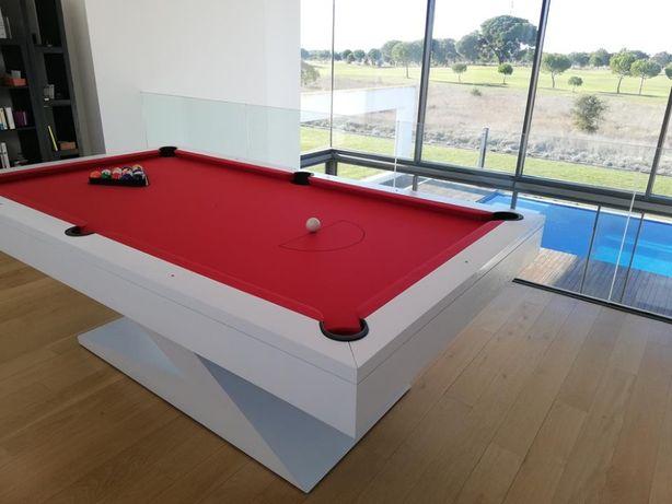 """Bilhar/Snooker """"Z"""" - Novos - da Fábrica para sua casa"""
