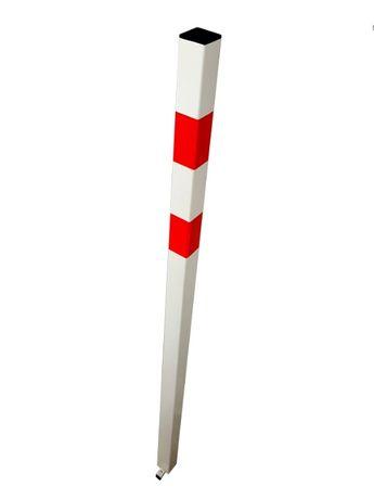 NOWY SŁUPEK PARKINGOWY STAŁY 145cm DO montażu w ziemi betonie wysyłka