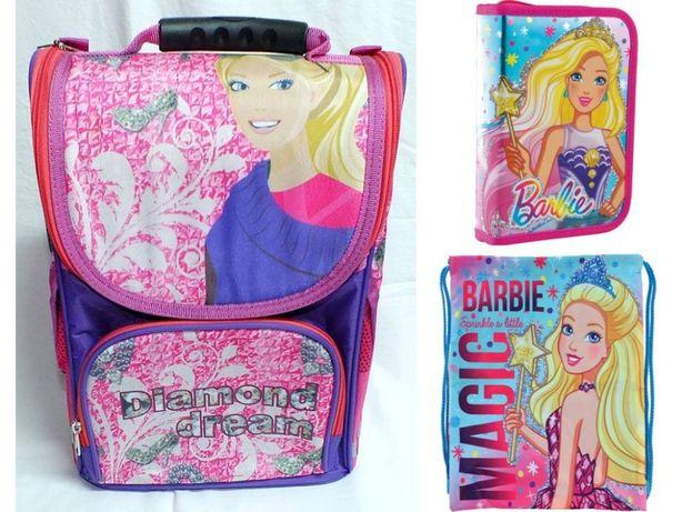 "Комплект ""Barbie - Барби"" Рюкзак (ранец), пенал, сумка, для девочки"