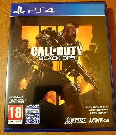 Sprzedam grę Call Of Duty Black Ops 4 - nietrafiony prezent :)