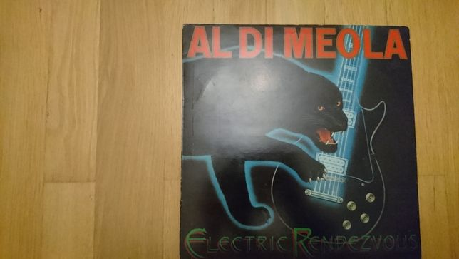 Al. DiMeola, Electric Rendezvous, 1982, Netherlands, bdb