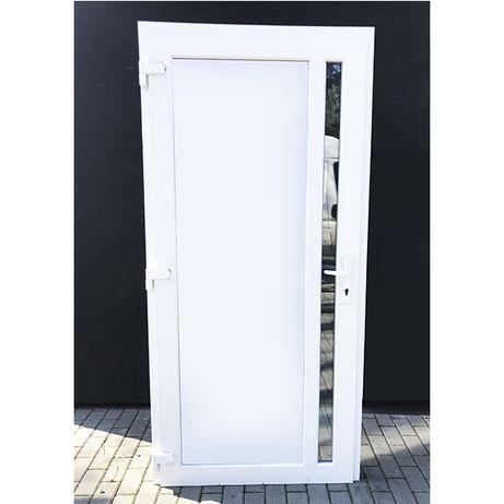 Drzwi wejściowe PCV 100x210