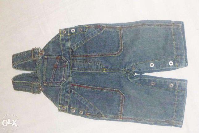 jeansy ogrodniczki 62-68