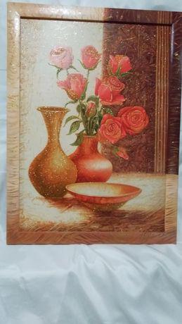Картина для кухни репродукция дорисовка.