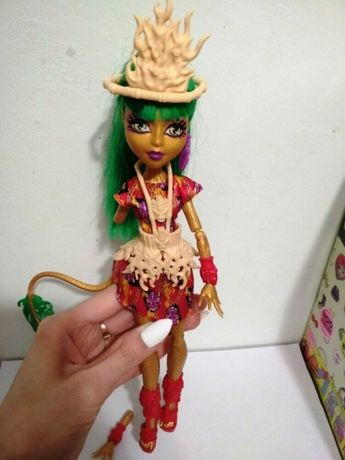 Кукла Monster High Джинафаер Лонг Монстры в бегах, МонстерХай оригинал