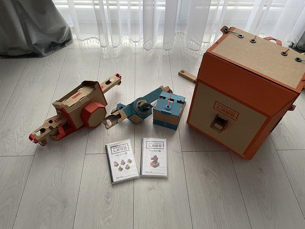 Nintendo Labo Variety Kit 01 + Robo Kit 02 - Nintendo Switch