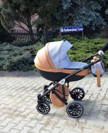 Wózek dziecięcy 2w1 ANEX SPORT + fotelik CYBEX 0-13kg + adaptery