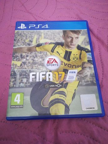 Jogo FIFA 17 playstation 4