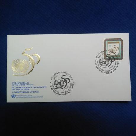 Envelope ONU 50' aniversário